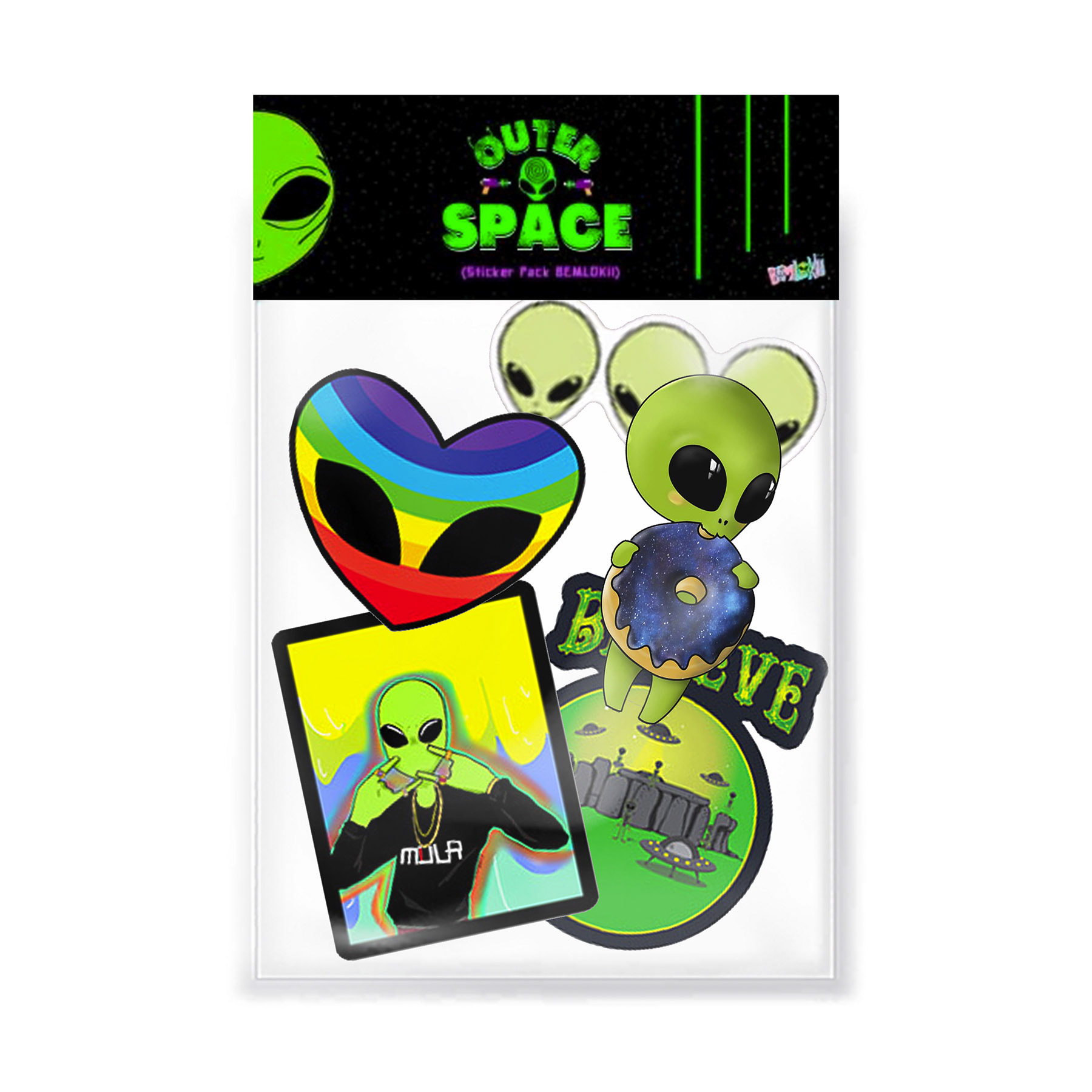 Stickers Pack vol. 1