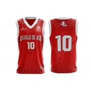 Camisa de basquete oficial cavalo de aço II