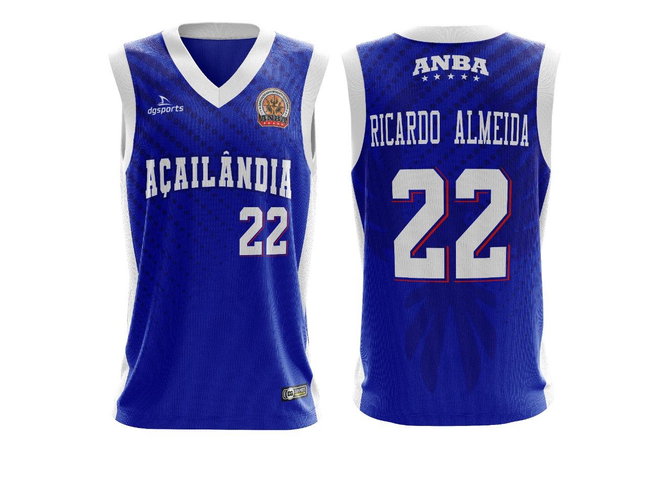 Camisa de basquete oficial Açailândia