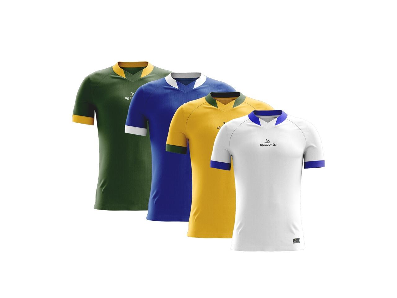 Kit Camisa t-shirt dg sports