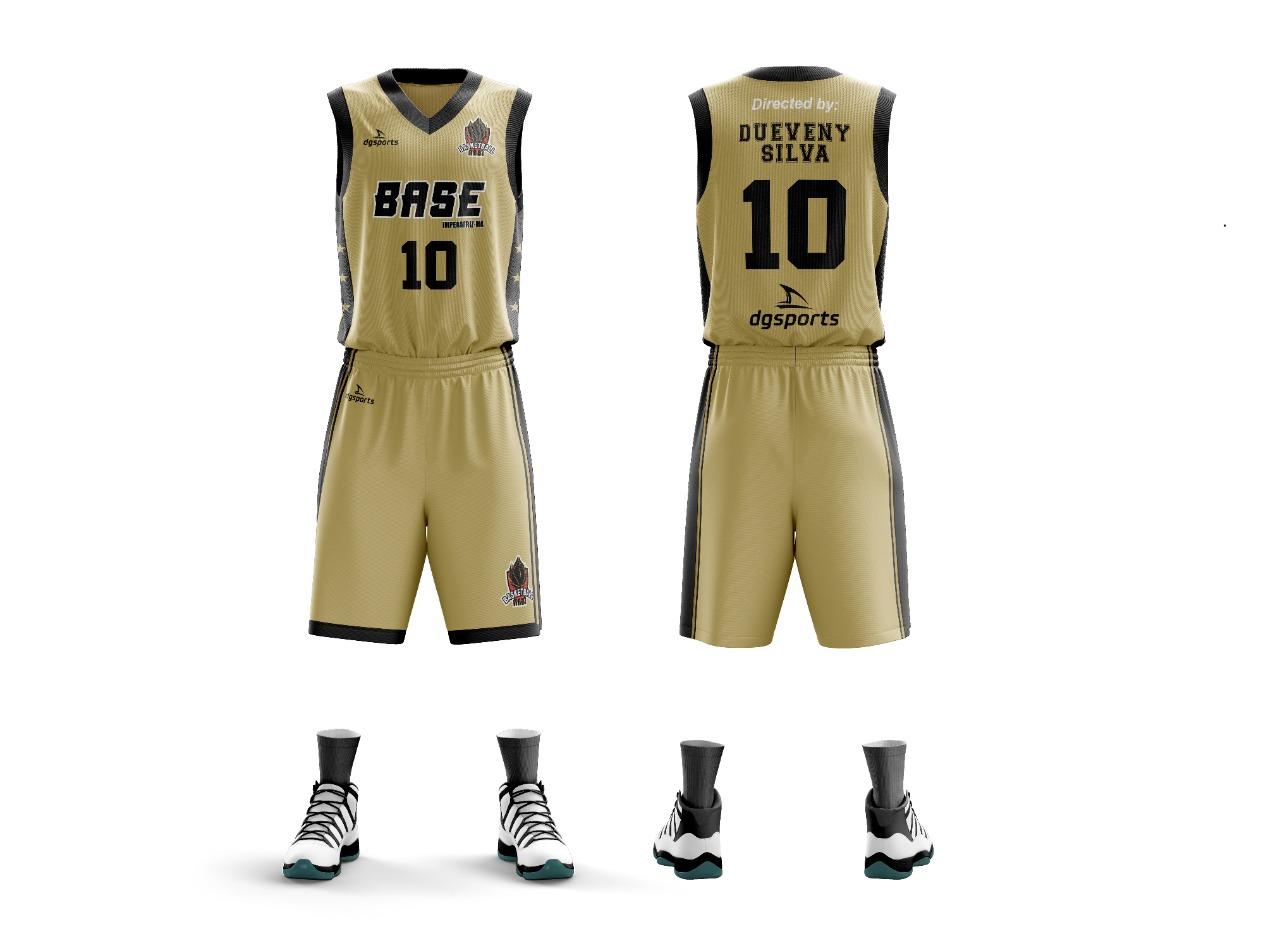 Uniforme de basquete time Base