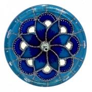 Incensário - Mandala Azul