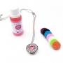 Colar Difusor de Aromas Pessoal + Essência - Libra (Jasmim Rosa)