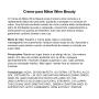 CREME PARA MÃOS DE VINHO - Wine Beauty