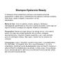 SHAMPOO CAPILAR HIDRATANTE E RECONSTRUTOR Hyaluronic Beauty