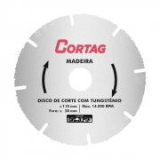 Disco Corte Tungstenio para Madeira 110x20mm Cortag 61346