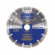 Disco Diamantado Segmentado 180mm Irwin IW8947