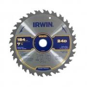 Disco Serra circular Corte Fino 184mm 24 dentes Irwin IW14107