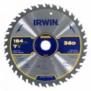 Disco Serra circular Corte Fino 184mm 36 dentes Irwin IW14108