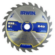 Disco Serra circular Corte Fino 235mm 24 dentes Irwin IW14111