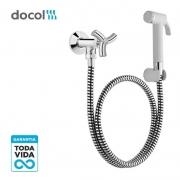 Ducha higienica com registro e com gatilho Docol Trio 00502606