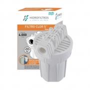Filtro de Agua Clor 5 Branco Hidrofiltros 9070024