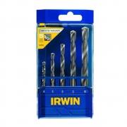 Jogo de brocas para concreto Standard 5 pecas Irwin 891503