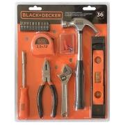 Kit de Ferramentas Manuais 36 Pecas BlackDecker BD80336-840