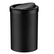 Lixeira c/ Tampa Basculante 8 litros Preta Future 1220PT