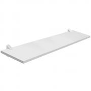 Prateleira Concept Branca 25x80cm com Suporte PratK 8850 070