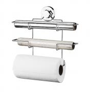 Suporte para Papel Toalha Alumínio PVC com Ventosa Future 4018