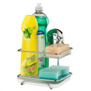 Suporte para Sabao Detergente Esponja com Ventosa Future 4017