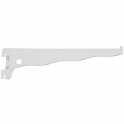 Suporte Trilho Simples Prateleira Branco 25cm PratK 8511 025