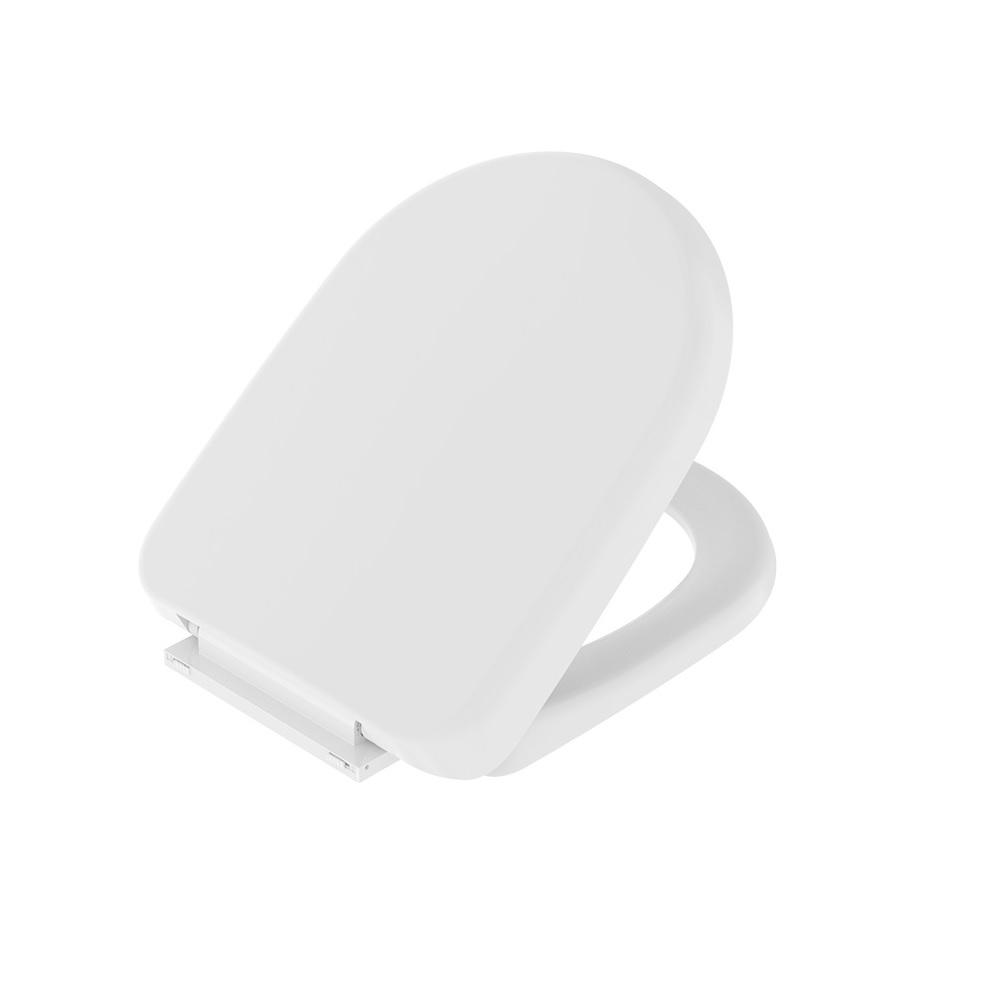 Assento Sanitario Carrara Sistema Soft Close Branco Censi 7625