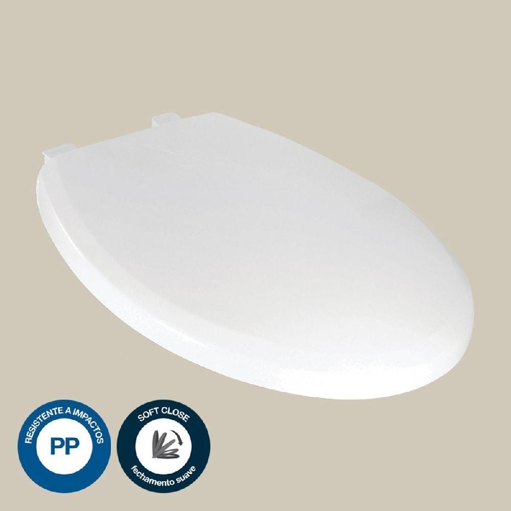 Assento Sanitario Formatta Soft Close Branco Lorenzetti 7150022