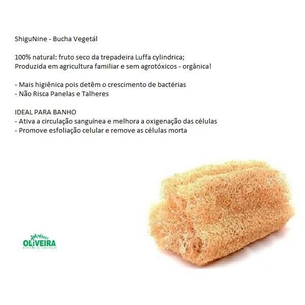 Bucha Vegetal Kit com 10 unidades ShiguNine