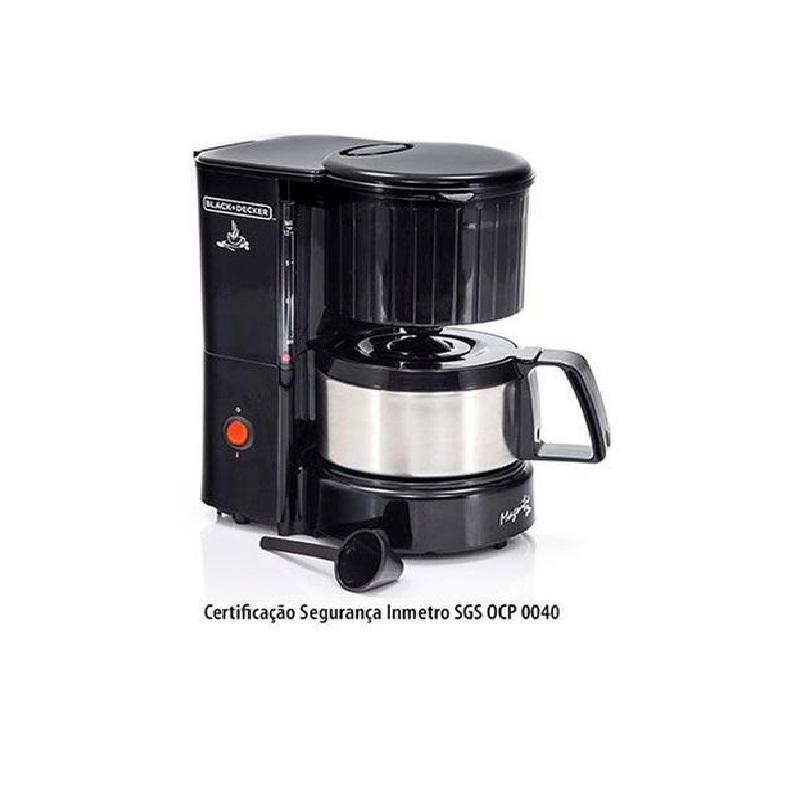 Cafeteira 12 Cafes com Jarra em Inox 220V BlackDecker CM12