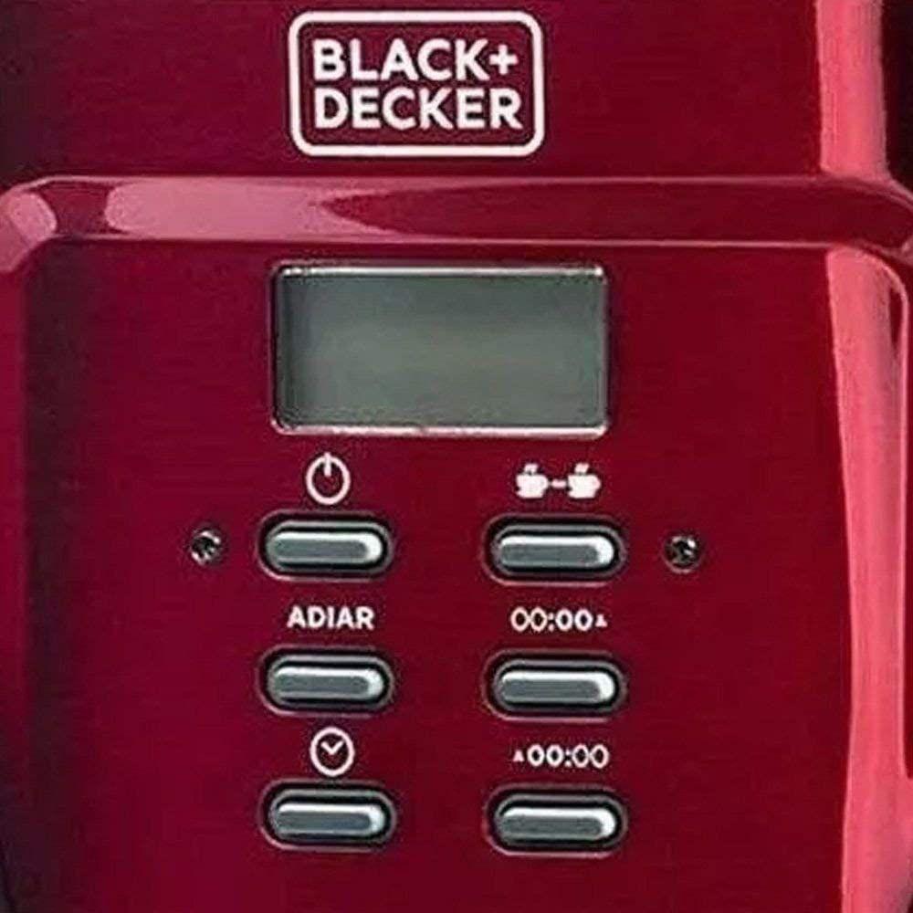 Cafeteira Eletrica Programavel 30 Xicaras 220V Black&Decker CMP