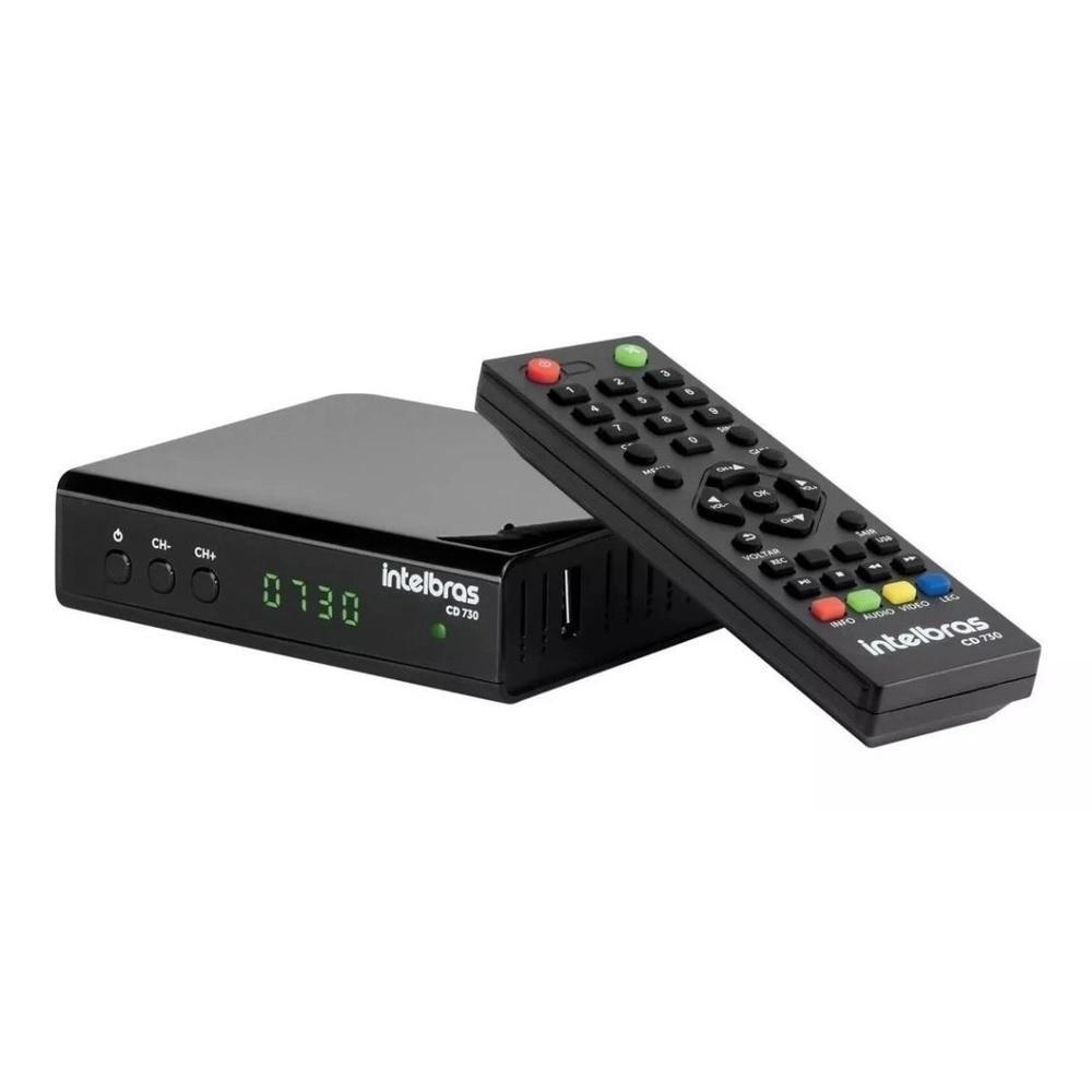 Conversor Digital de TV com Gravador CD 730 Intelbras 4143005