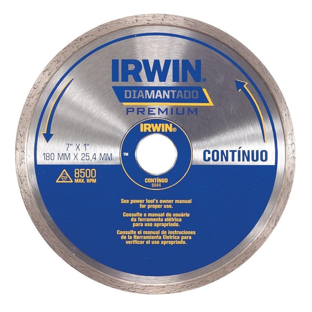 Disco Diamantado Continuo 180mm Irwin IW8944