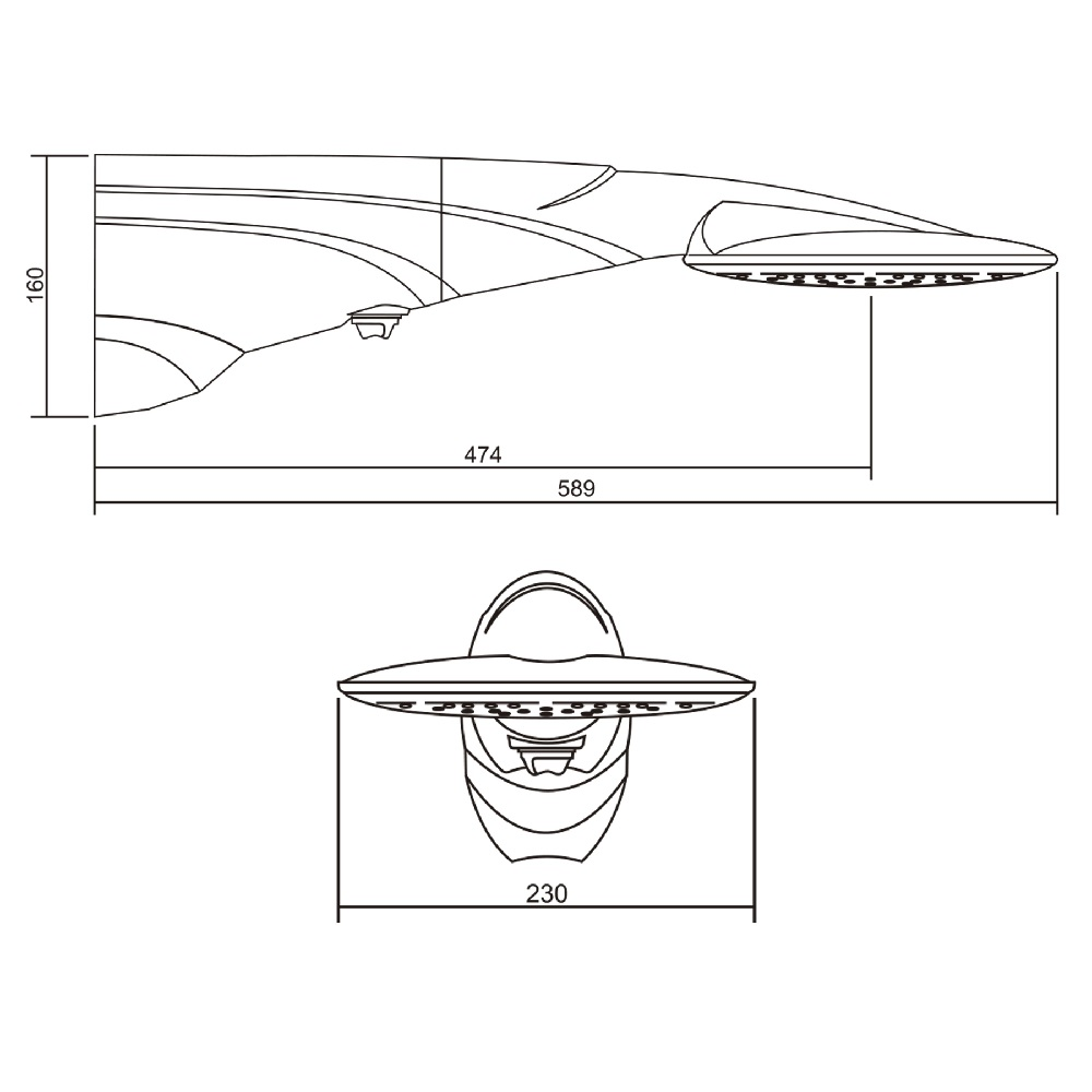 Ducha Advanced Turbo Eletronica 220v 7500W Lorenzetti