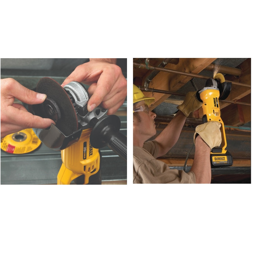 Esmerilhadeira 4 1/2 20V Brushless Sem Bat Dewalt DCG412B