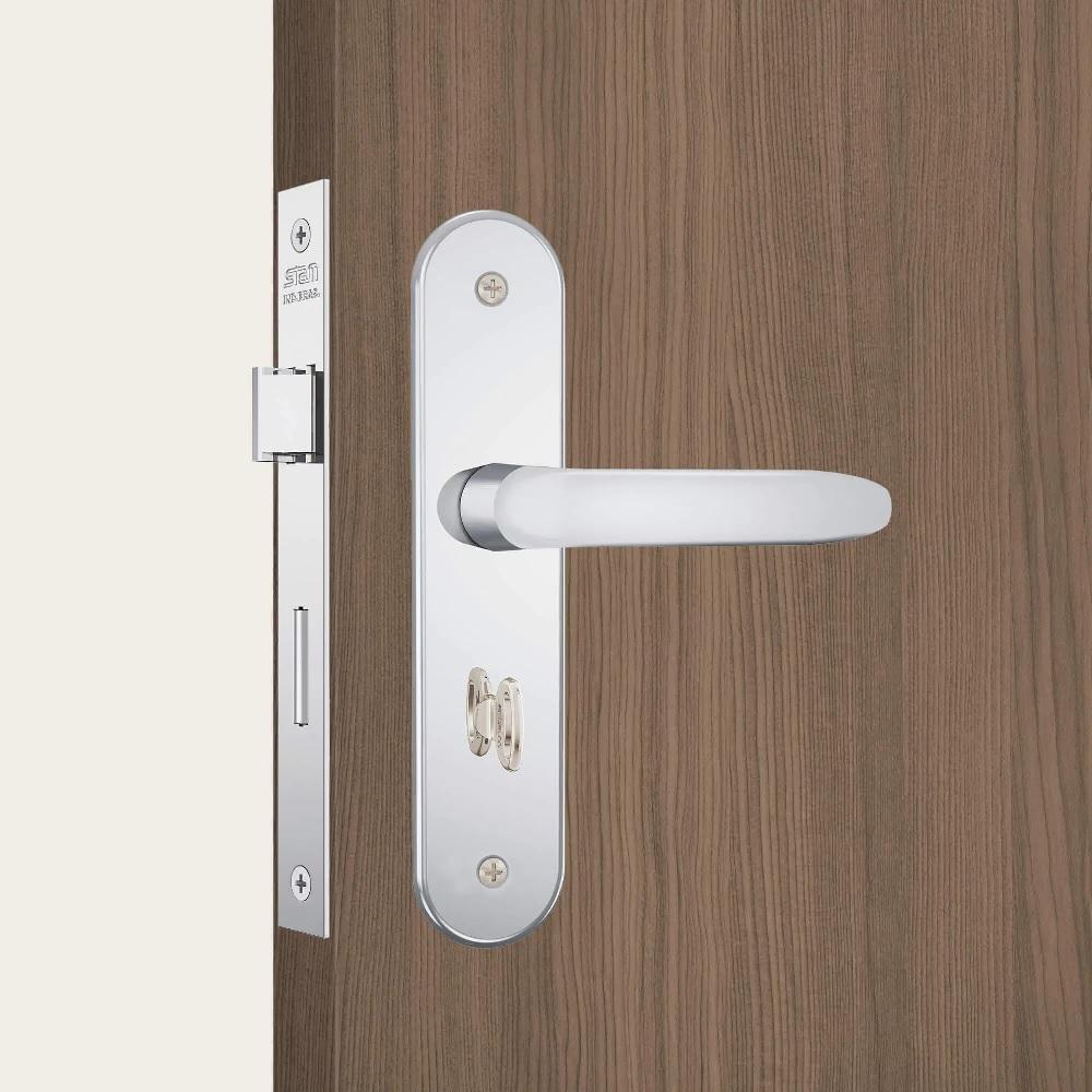 Fechadura Banheiro Espelho Inox polido Stam 824 011