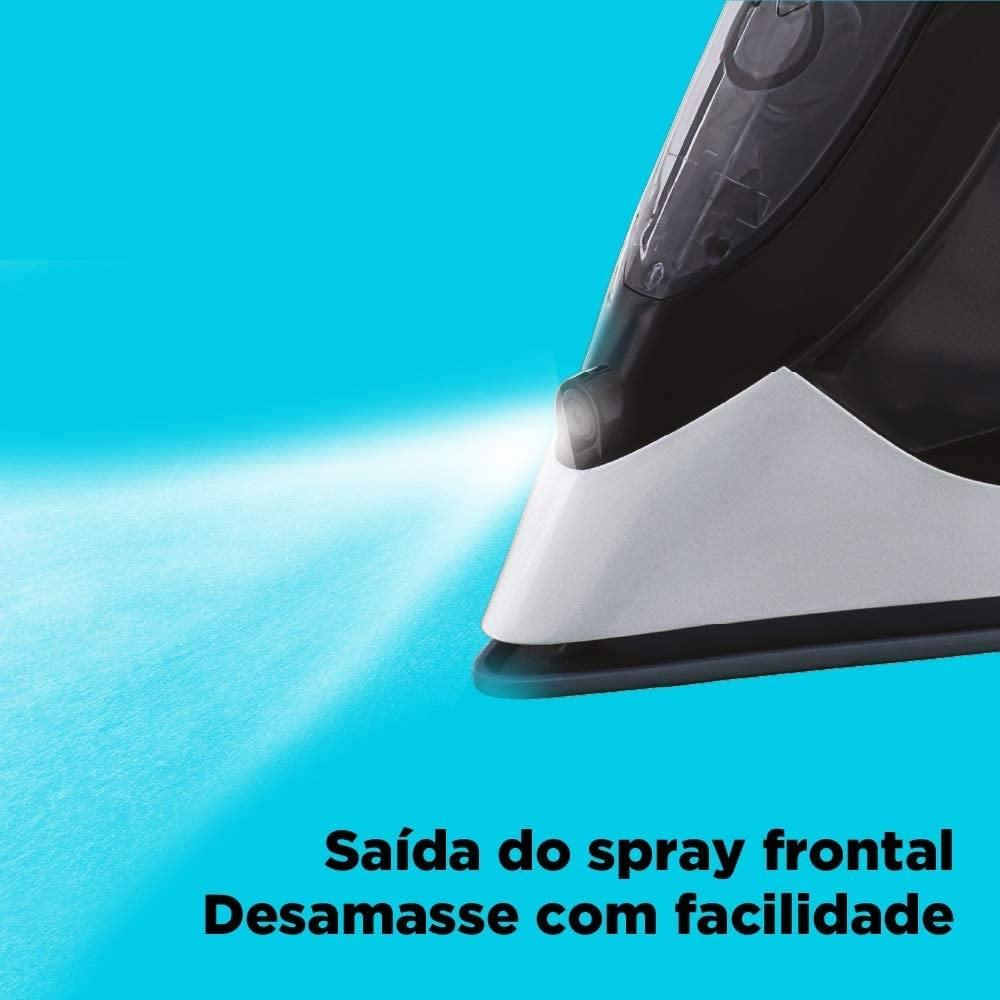 Ferro de Passar a Vapor com Anti-gotejamento 2000W 220V Black&Decker FX2700 B2