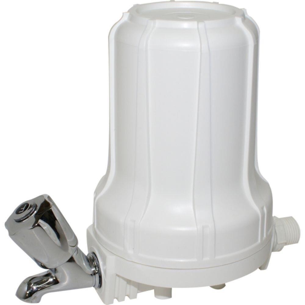 Filtro Blist 5 Com torneira Branco Hidrofiltros 9070020