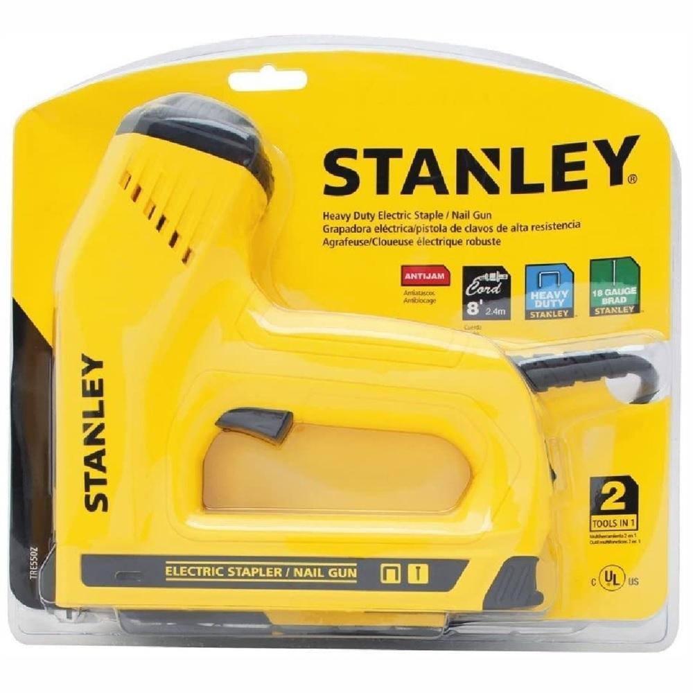 Grampeador e Pinador Eletrico 220V Stanley TRE550