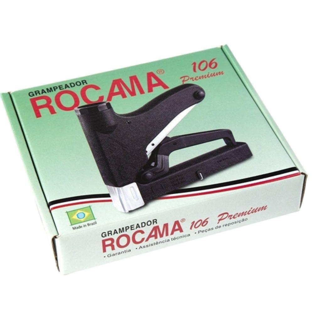Grampeador Manual 106 Premium Rocama