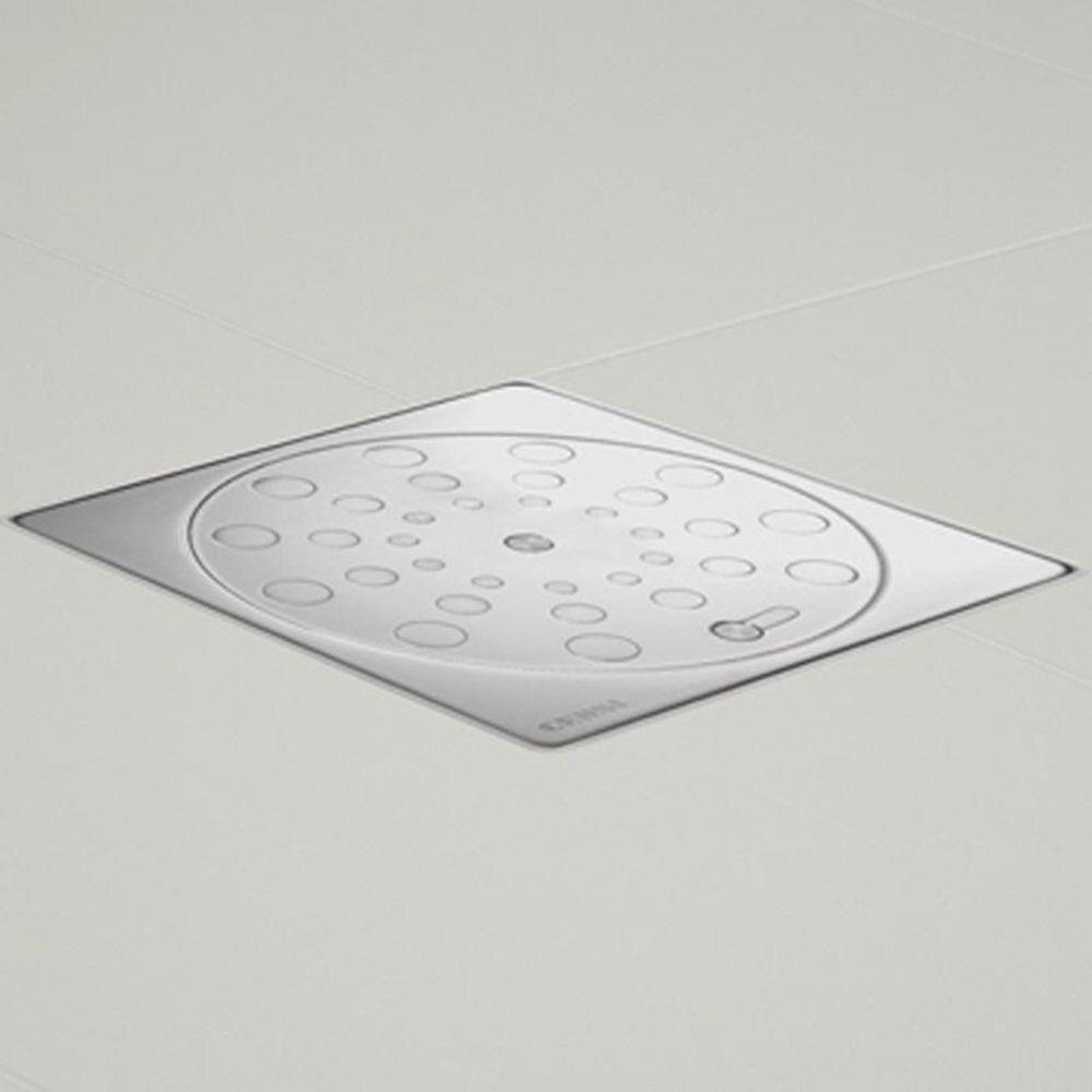 Grelha de Aco Inoxidavel Quadrada Rotativa 15cm Censi 7721