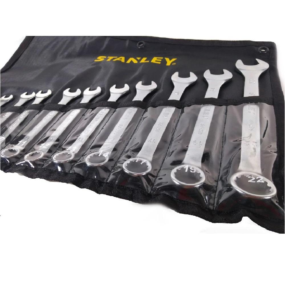 Jogo Chave Combinada 12PCS 6 a 22mm Stanley STMT80932840
