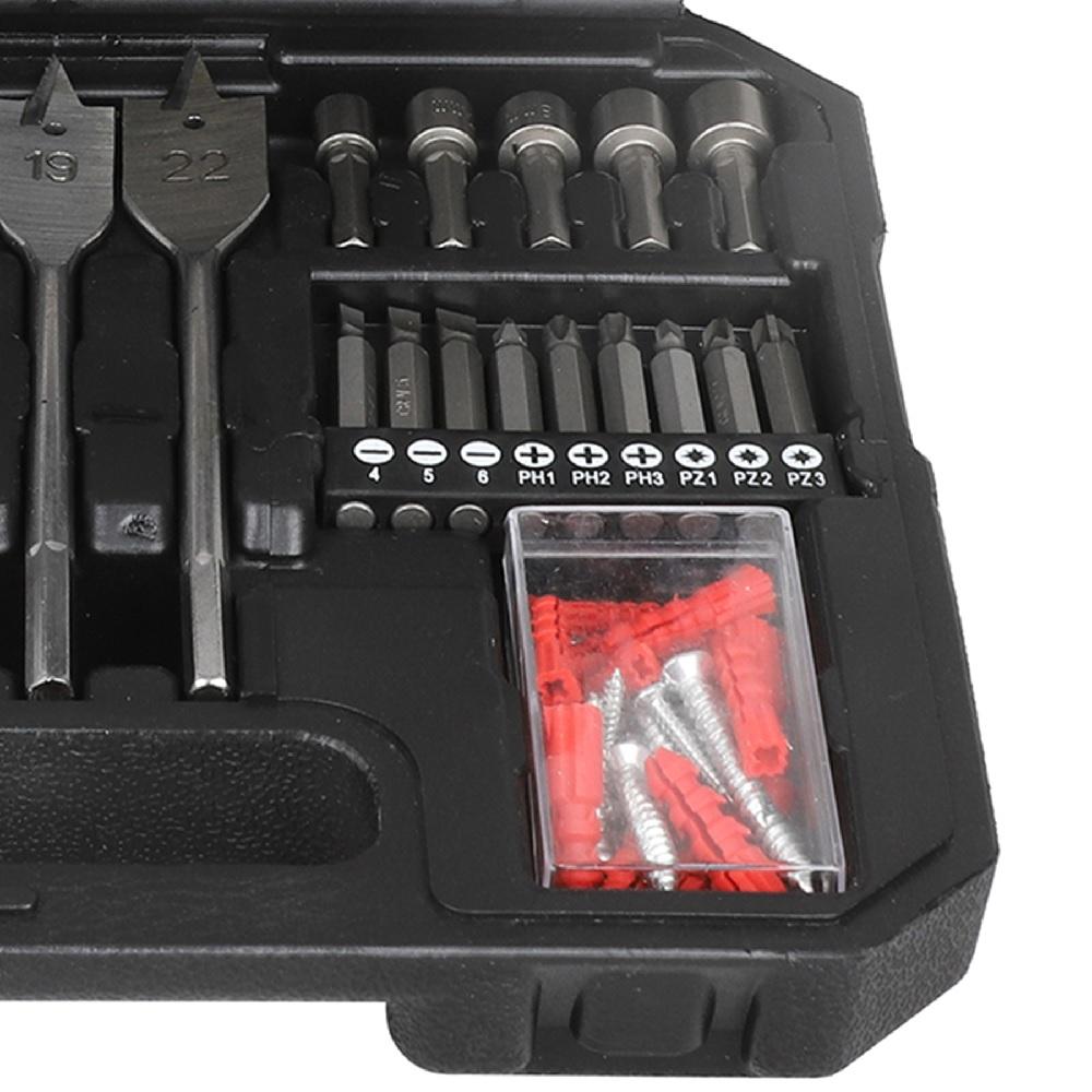 Kit de Brocas e Bits com 125 pecas Wesco WS9958