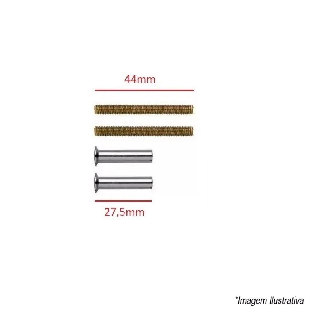 Kit Fixadores Normais Acabamento Valvula Descarga Docol 00020906