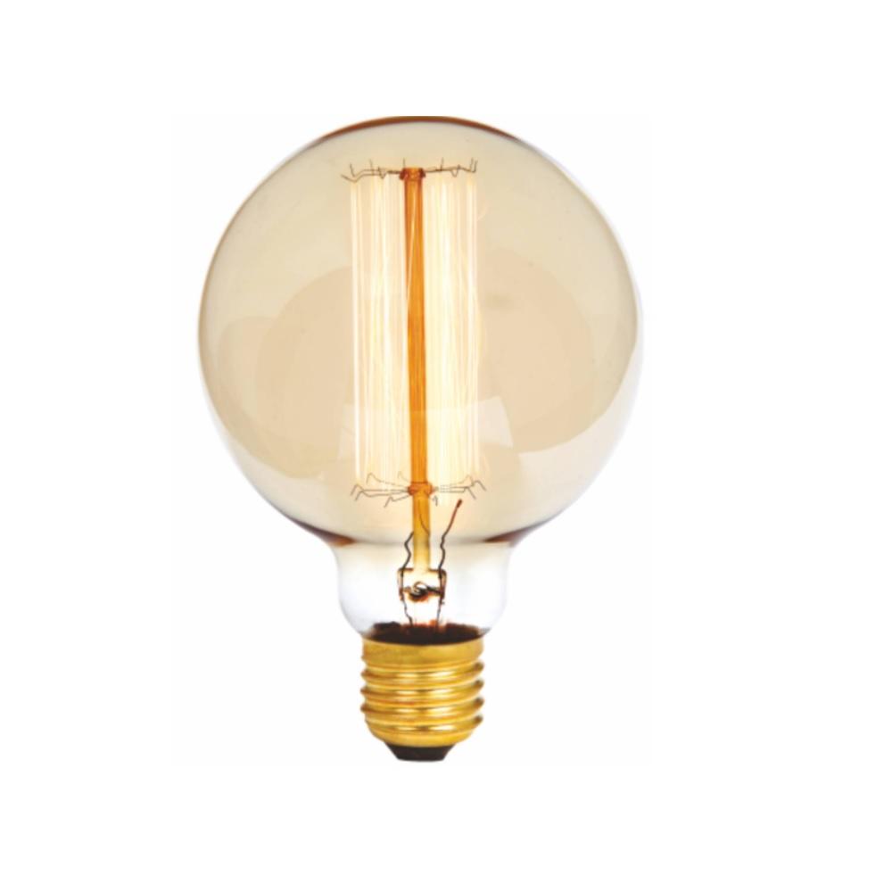 Lampada G95 Filamento Carbono 220V 40W 2300K E27 Glight 180 10 0022