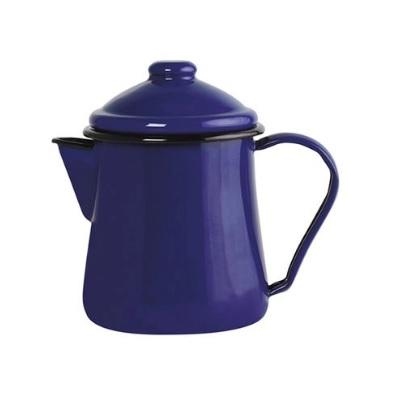 Leiteira Tradicional Esmaltada 1L Azul Agata Ewel 150 005