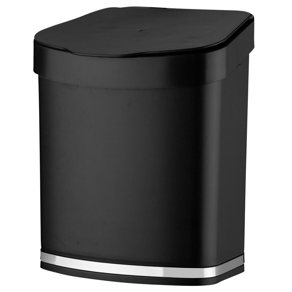 Lixeira 2,5 Litros Preta Future 1258PT