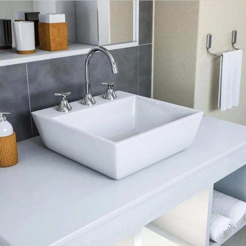 Misturador para Banheiro de Mesa Bica Alta Docol Primor 00671906