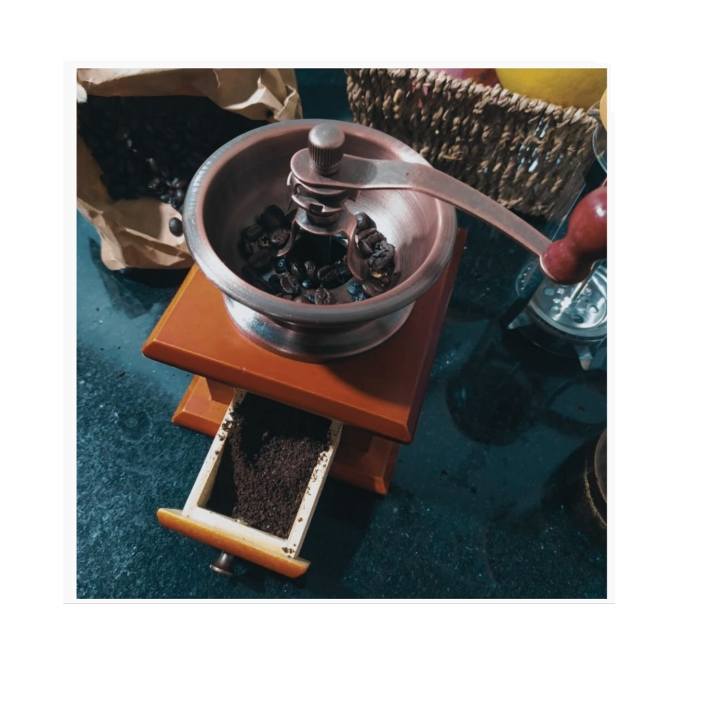 Moedor de Cafe Manual Retro MimoStyle AF20125