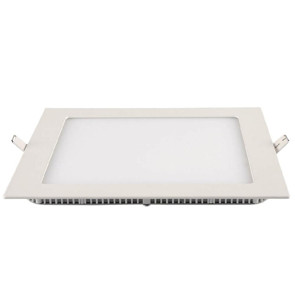 Painel LED Slim Embutir Quadrado 24W 6500K Blumenau
