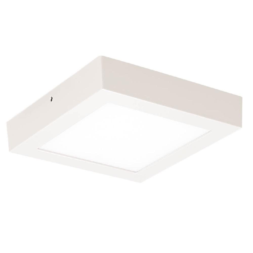 Painel LED Slim Sobrepor Quadrado 24W 3000K Blumenau
