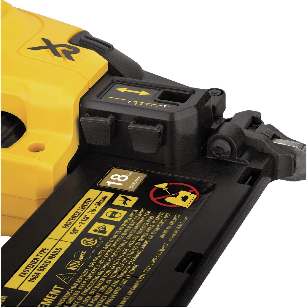 Pinador 18GA 20V MAX Brushless Sem bateria Dewalt DCN680B