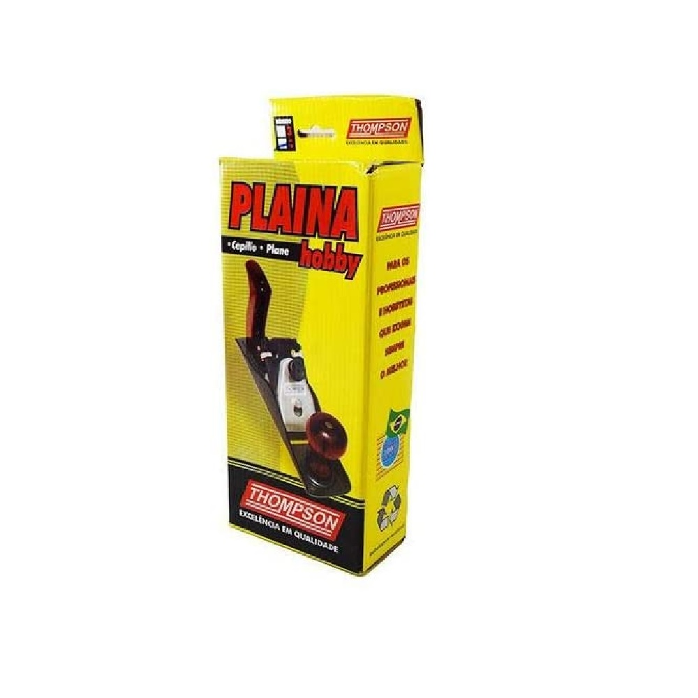 Plaina Manual Hobby Numero 4 Thompson 155